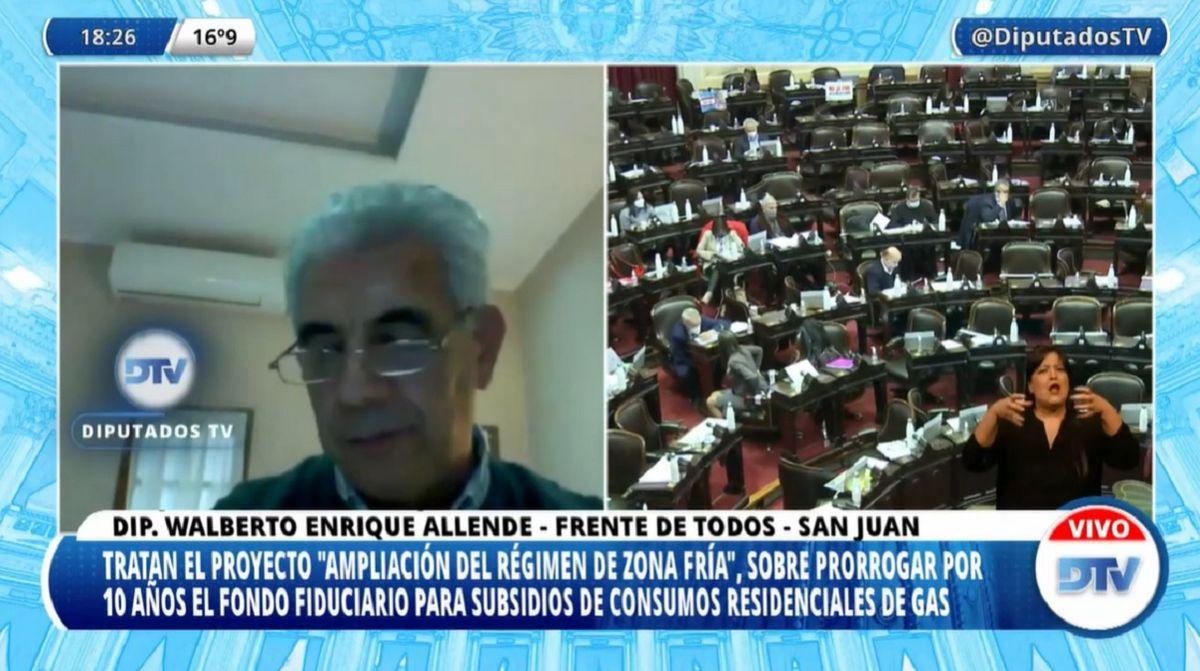 Diputados aprobó el proyecto que reducirá la tarifa del gas en San Juan.