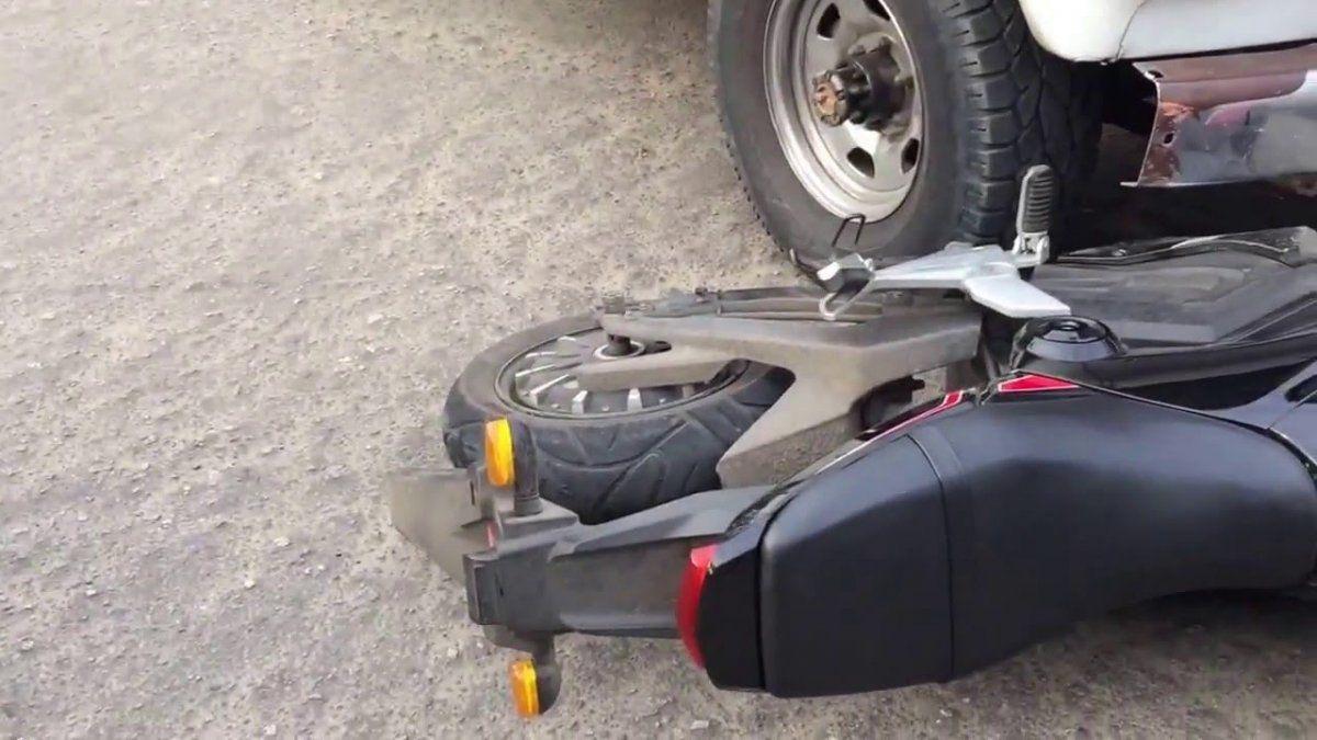 Moto eléctrica: imagen ilustrativa