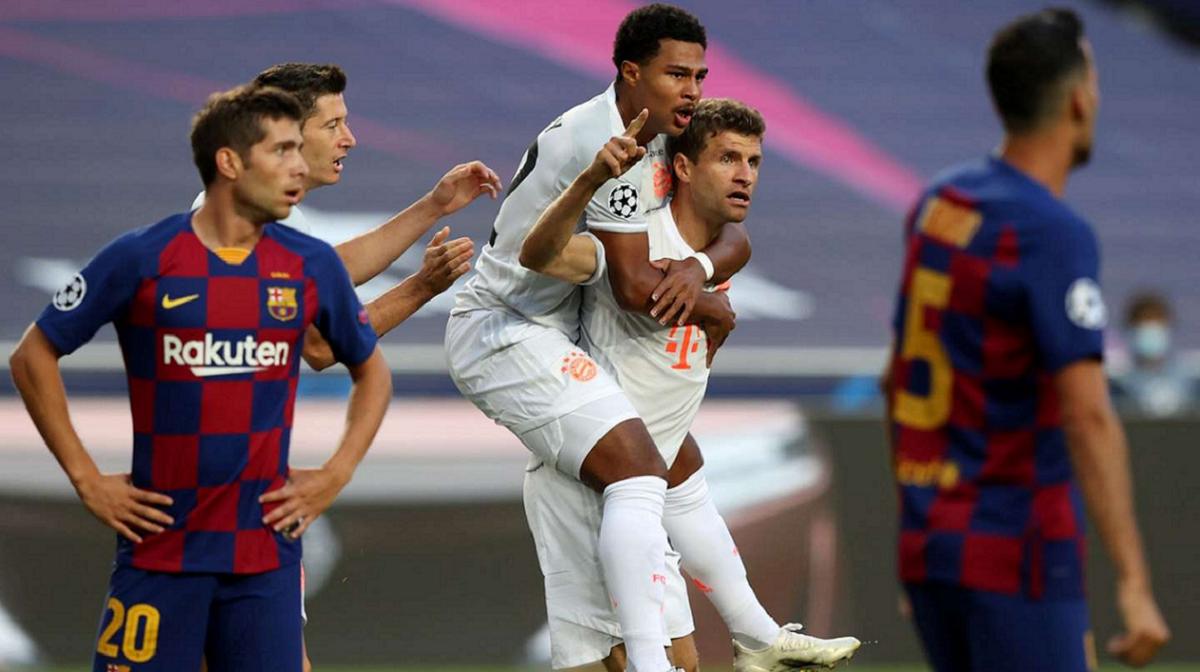 Barcelona y Bayern Munich, el destacado de la Champions