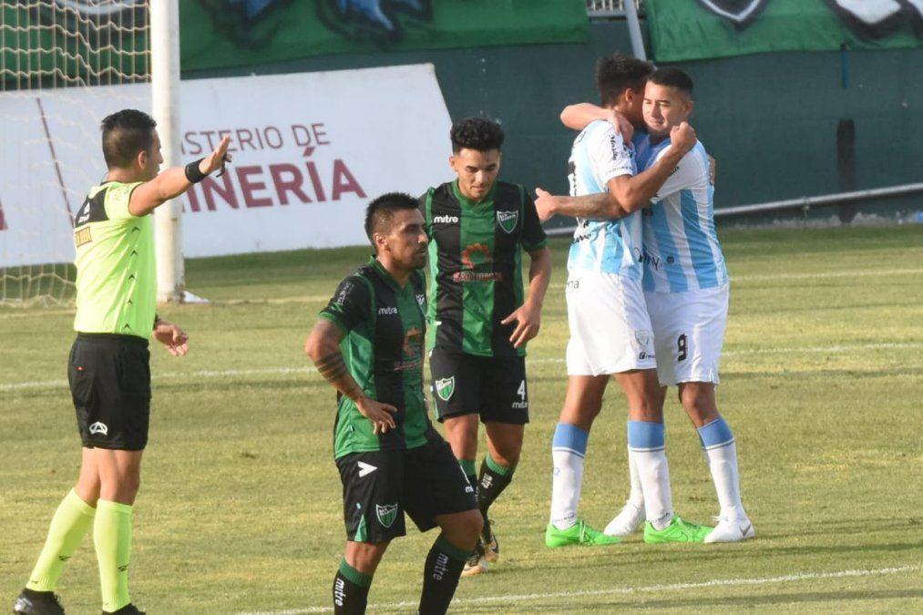 San Martín le ganó 4 a 2 a Atlético Rafaela. Foto: Adrián Carrizo.