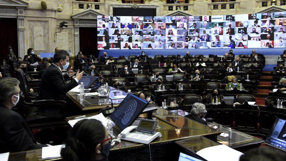 Escándalo sexual en la sesión de la Cámara de Diputados