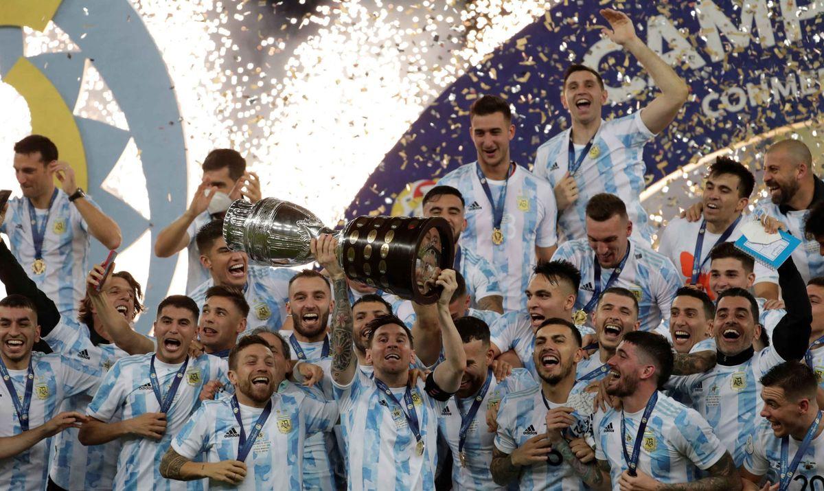 Argentina jugaría ante Italia por la Copa Diego Armando Maradona.