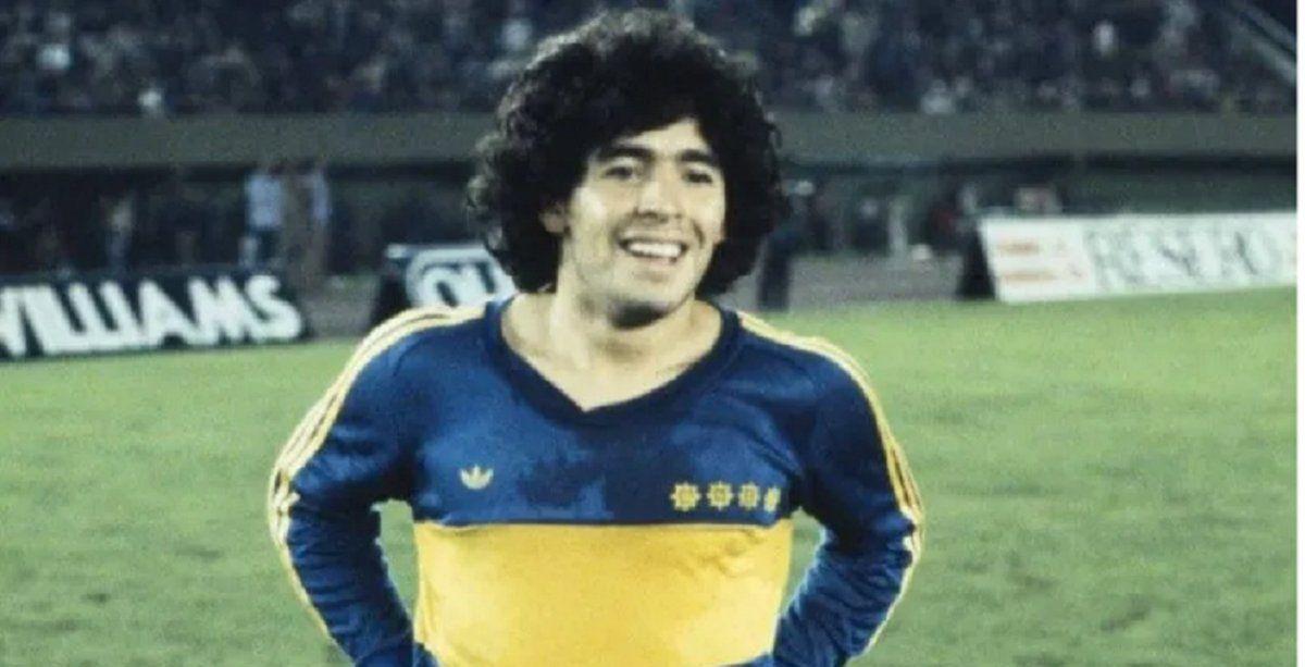 La nueva camiseta de Boca, como la histórica de Maradona