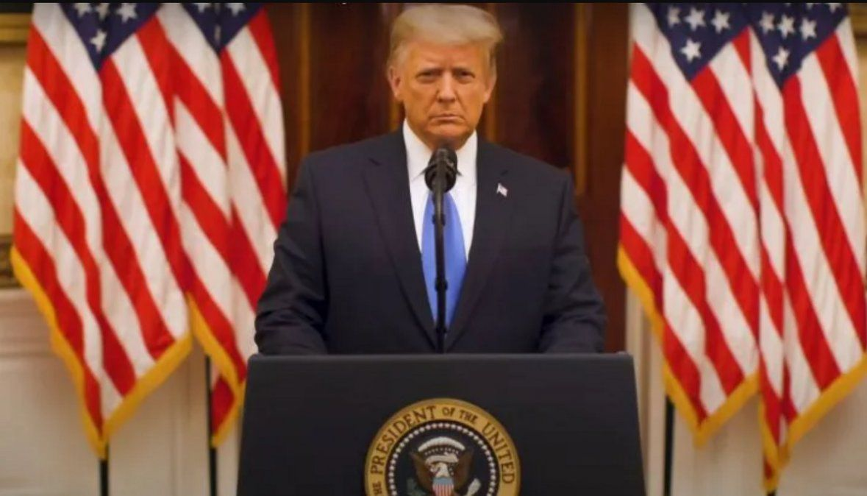 Trump dio su discurso de despedida: Hicimos mucho más