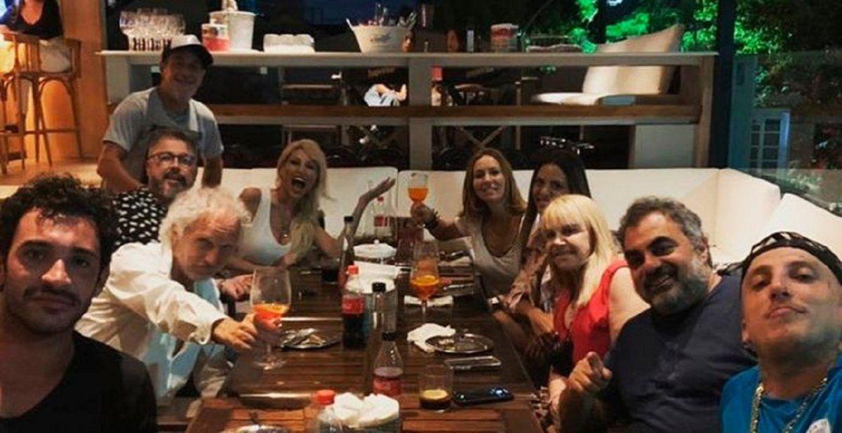 El divertido reencuentro de los ex Masterchef Celebrity