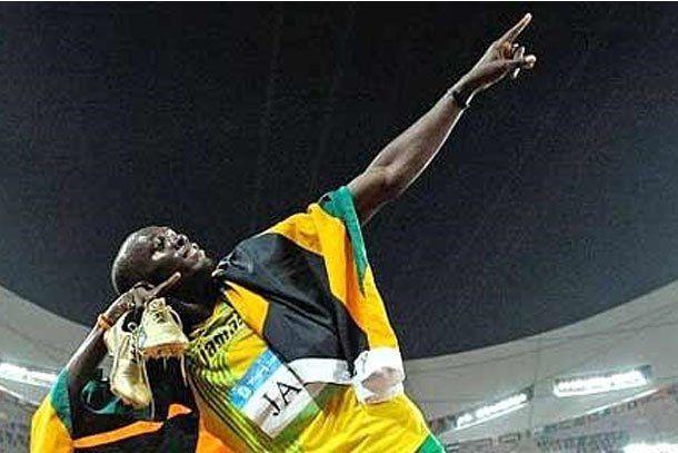 Usain Bolt inició una dieta para cumplir su sueño de jugar al fútbol