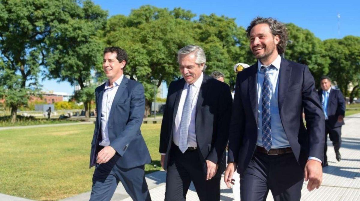 Alberto Fernández aceptó la renuncia a Wado de Pedro