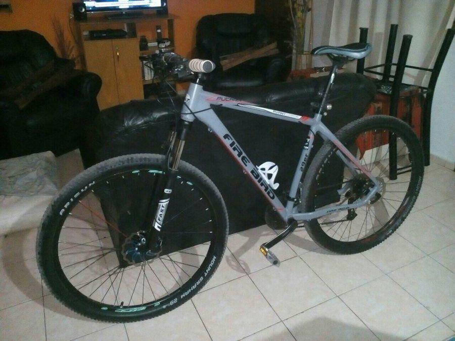 La bicicleta que le robaron a un obrero y que la recuperó tras pagar por ella.