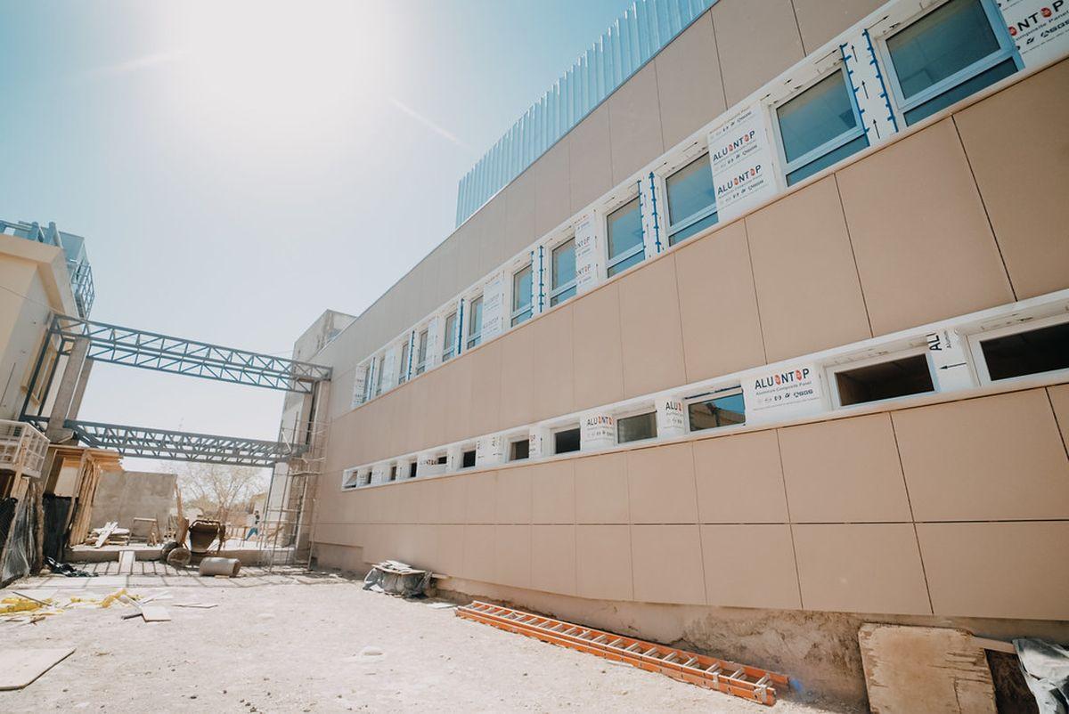La nueva obra del Hospital Marcial Quiroga entró en su etapa final