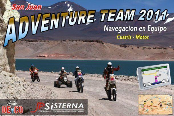 Rally raid: presentaron el San Juan Adventure Team 2011