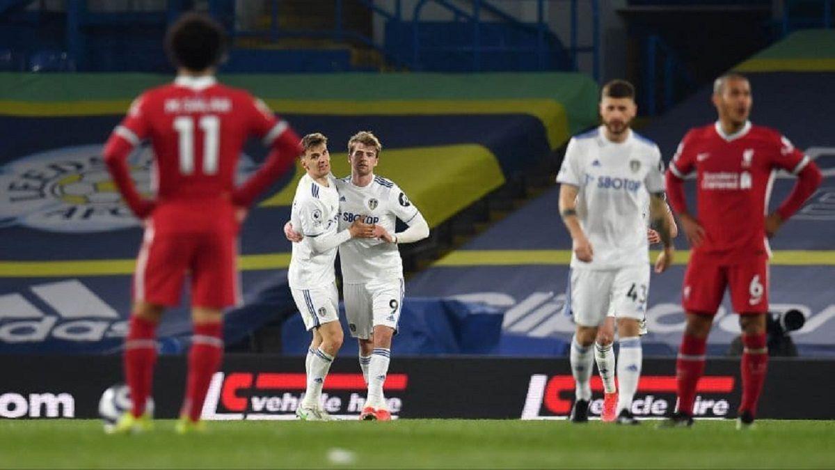 El Leeds de Bielsa logró empatar a Liverpool sobre el final