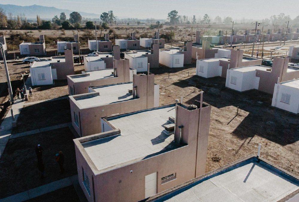 Lanzaron el plan de reconstrucción de viviendas que incluye a San Juan