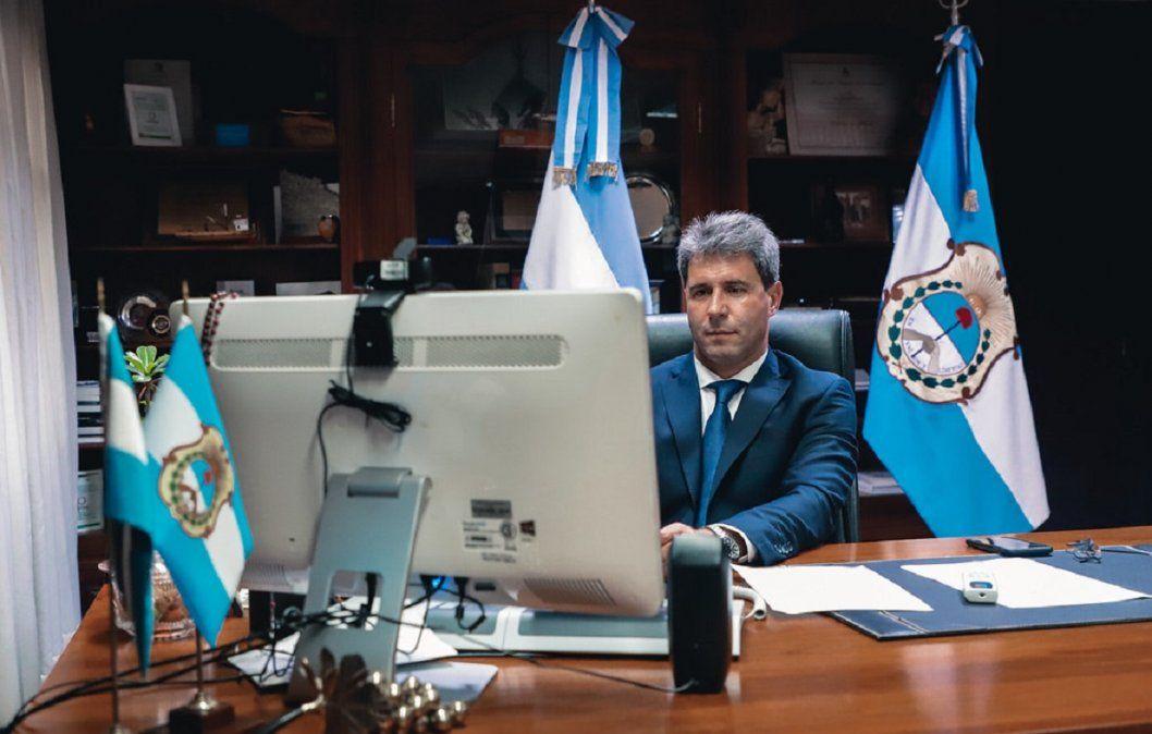 Uñac se reunió con la Mesa Nacional para el Desarrollo Minero