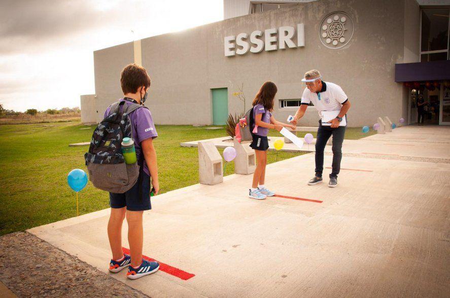Un colegio de La Plata seguirá con las clases presenciales