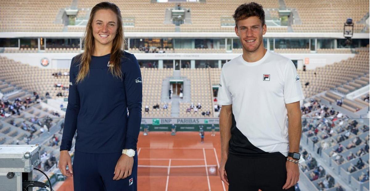 Los tenistas argentinos ya tienen rivales para los Juegos
