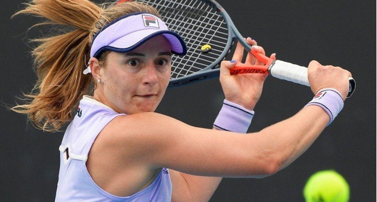 Podoroska quiere pasar a la semifinal de Yarra Valley Classic.