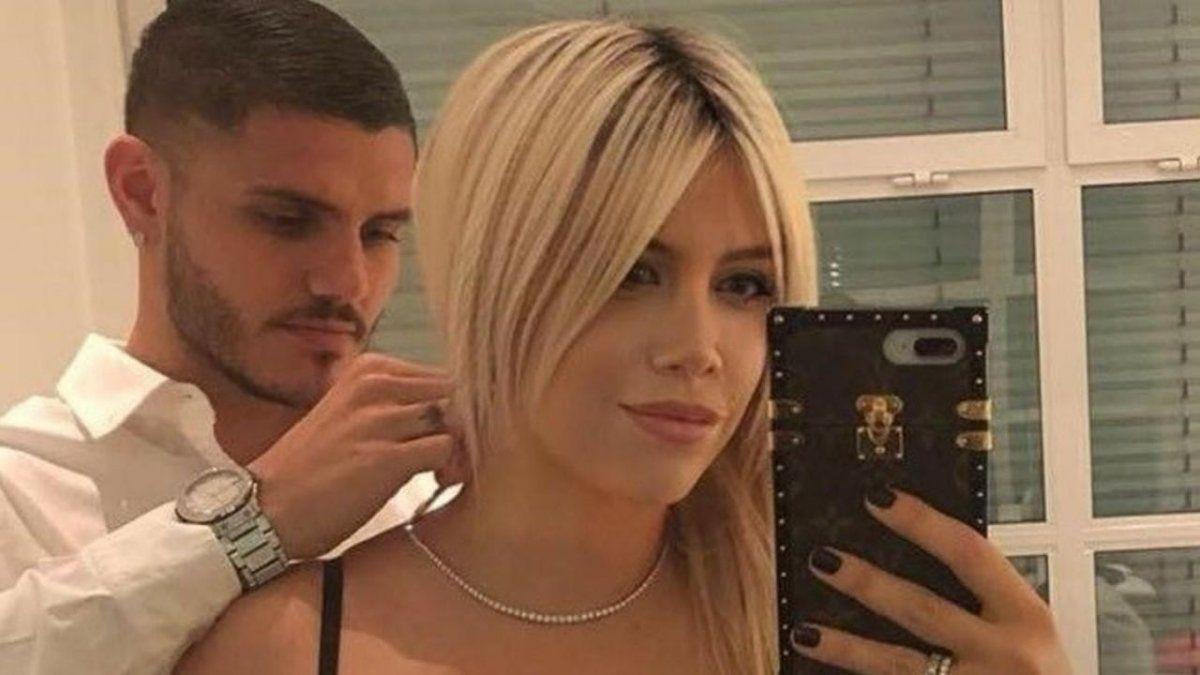 Instalaron un rumor sobre la vida sexual de Mauro Icardi y Wanda Nara