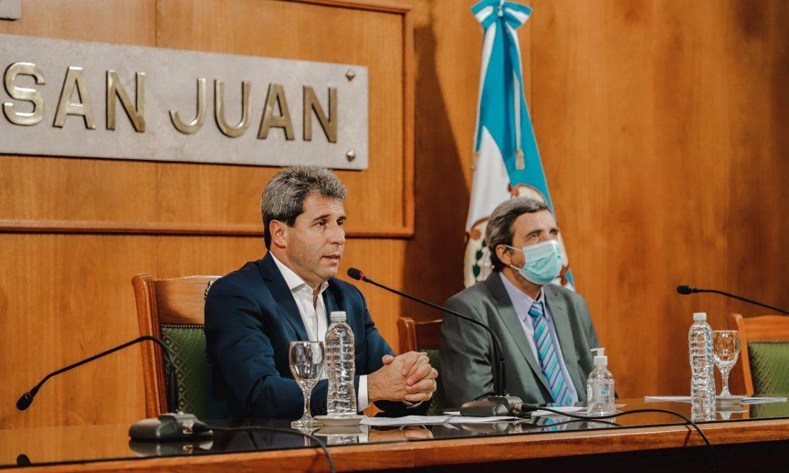Uñac presidió la apertura de San Juan Tierra Minera