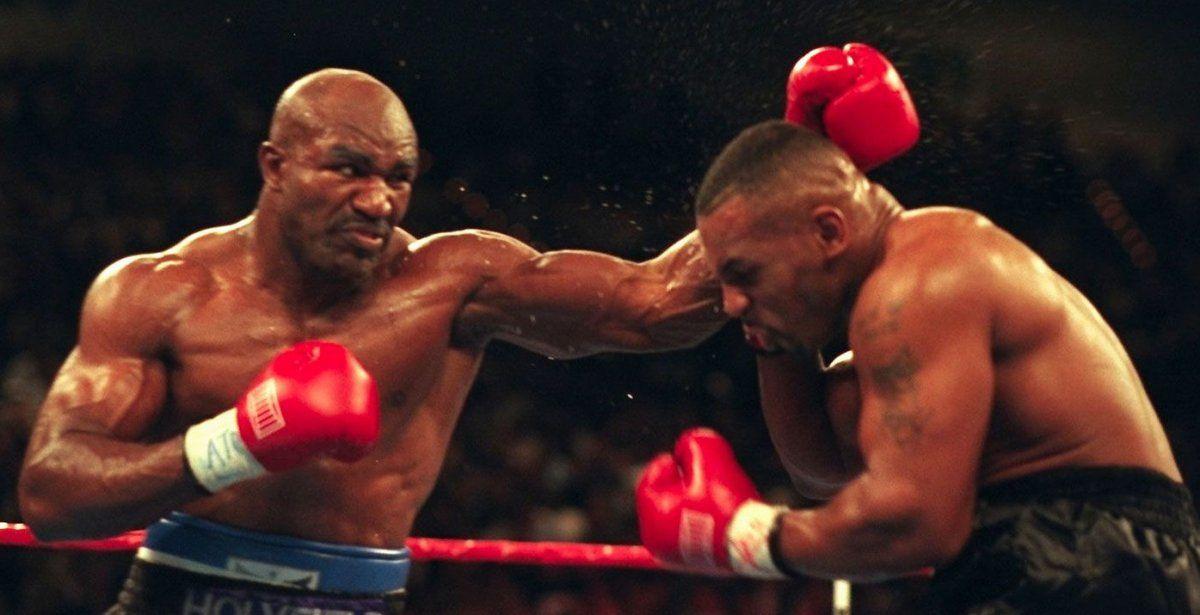 Tyson rechazó una jugosa oferta para pelear con Holyfield