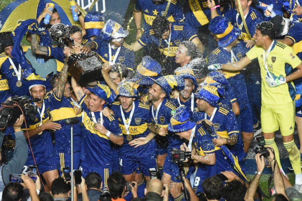 ¡Boca campeón! Se llevó la Copa Maradona en los penales