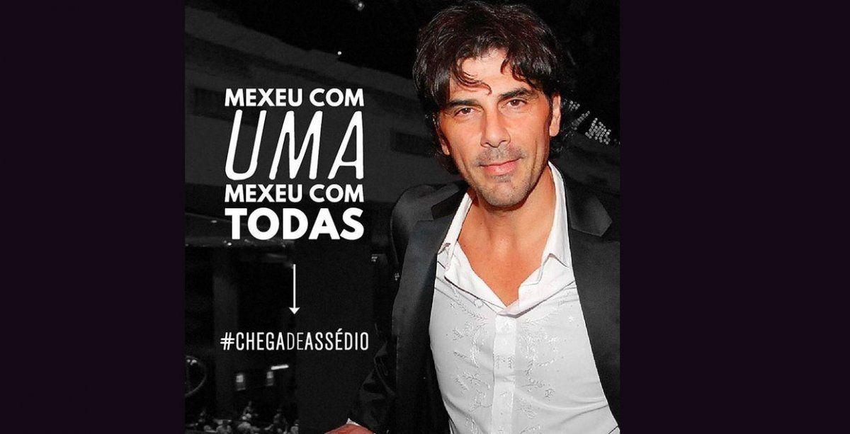 Las actrices de Brasil repudiaron a Juan Darthés