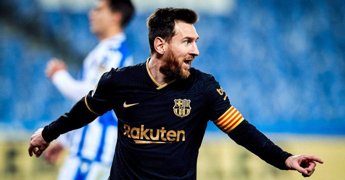 Lionel Messi anotó un doblete en la goleada de Barcelona.