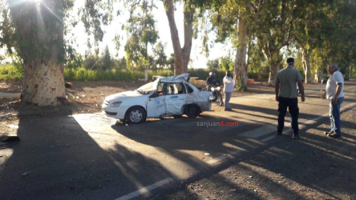Accidente fatal: un remisero murió al despistarse