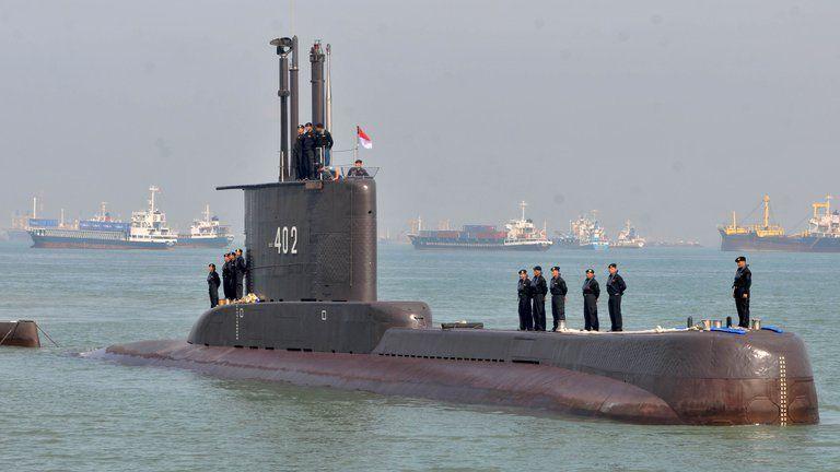 Desapareció un submarino con 53 personas a bordo en Indonesia