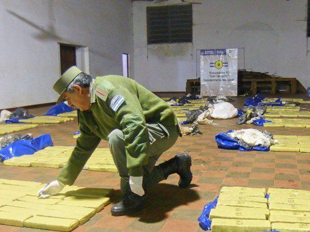 Secuestraron cerca de 1.400 kilos de marihuana en Misiones