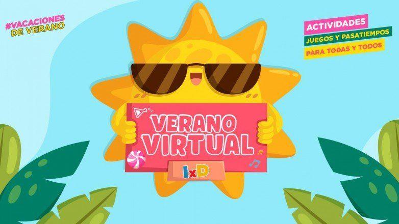 Este lunes comienza la Colonia Virtual de Verano