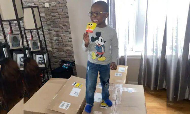 Un niño gastó casi 3 mil dólares en helados de Bob Esponja