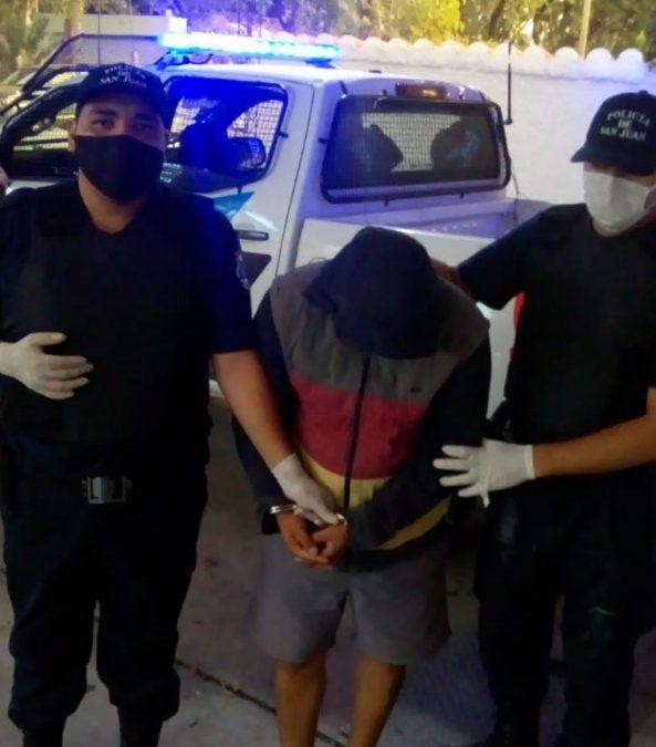 Ladrón detenido.