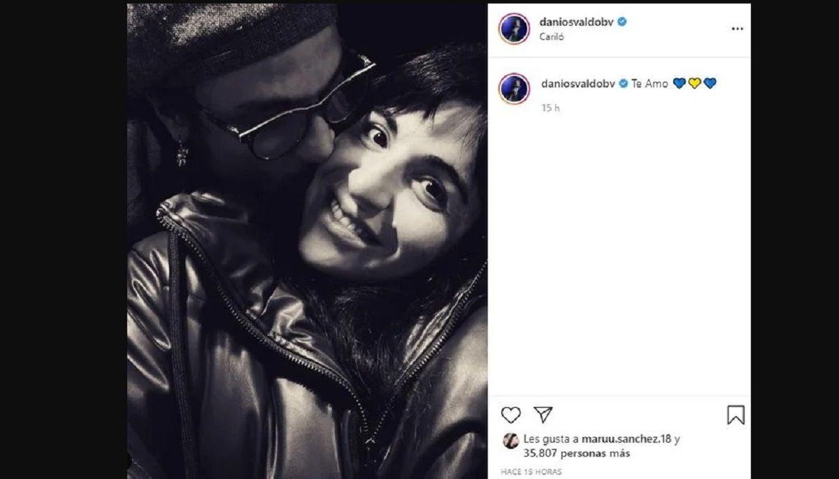 Daniel Osvaldo despejó rumores de crisis con Gianinna Maradona
