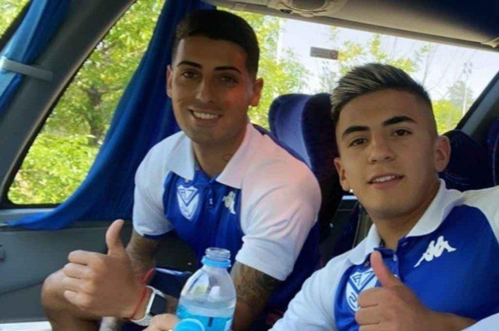 Miguel Brizuela y Thiago Almada fueron imputados por el delito de abuso sexual.