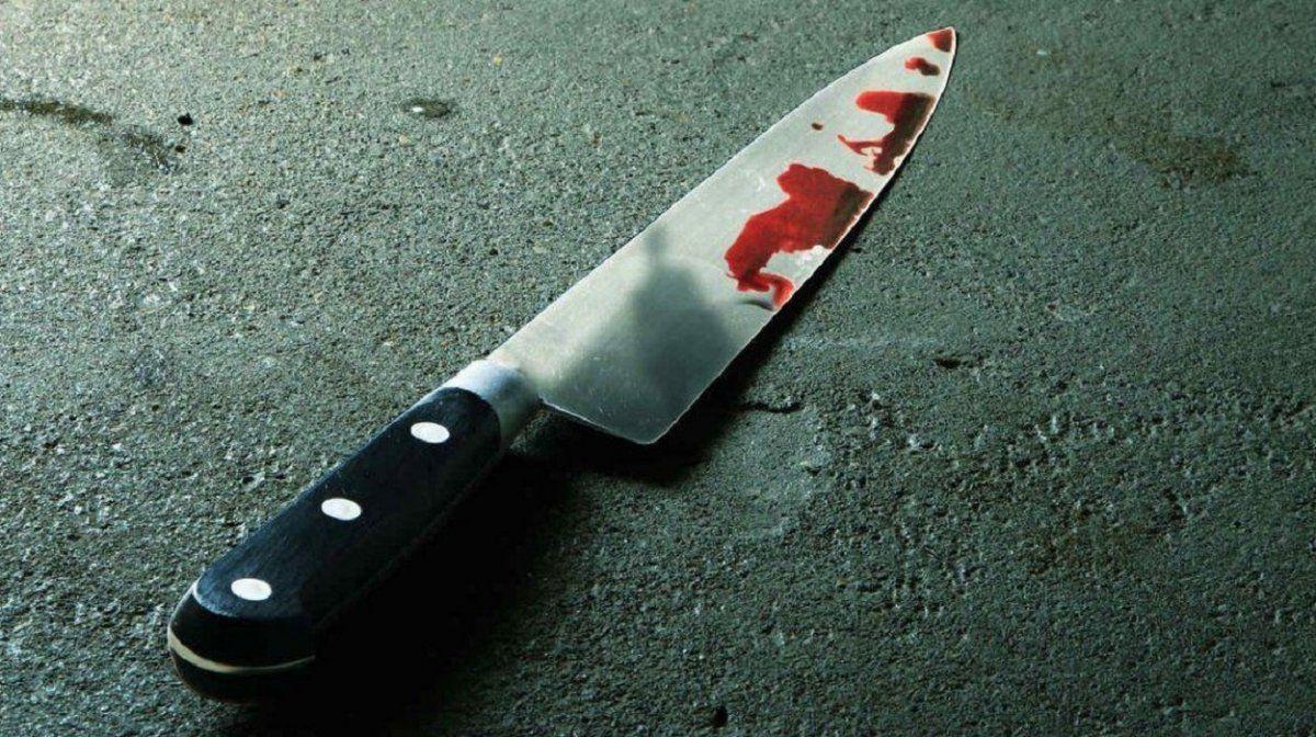 Encontró a su hermano con una herida de arma blanca en el pecho