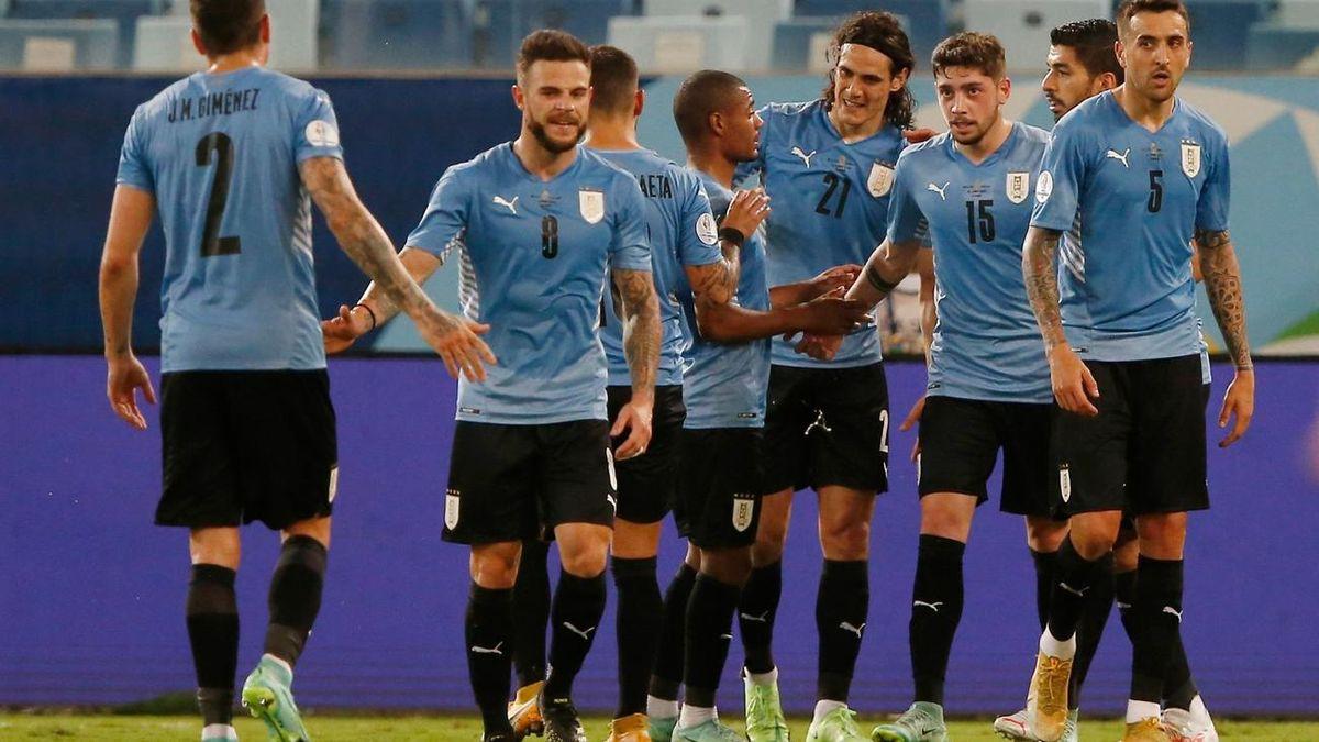 Uruguay y Colombia definen a un semifinalista de la Copa América