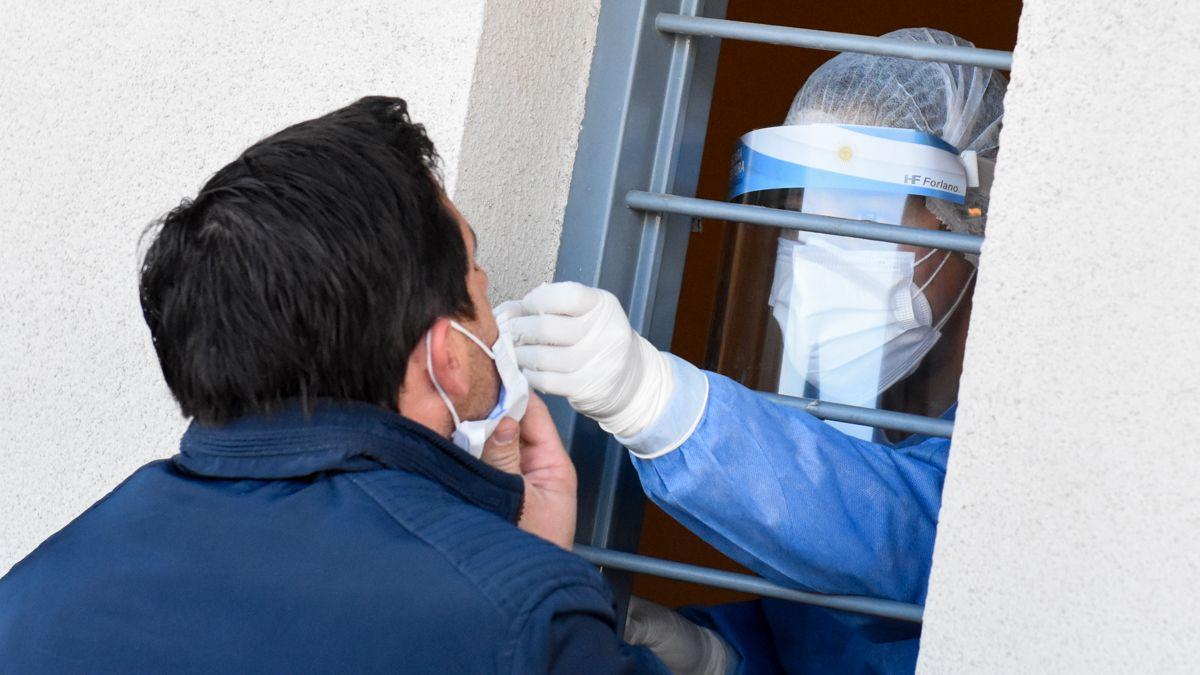 San Juan: 422 personas contrajeron Covid-19.