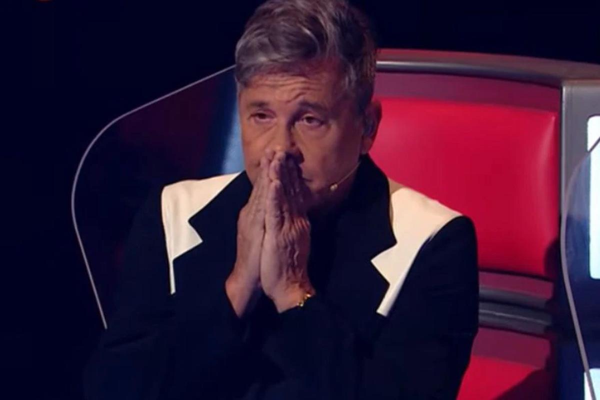 Ricardo Montaner se emocionó y lloró con una participante