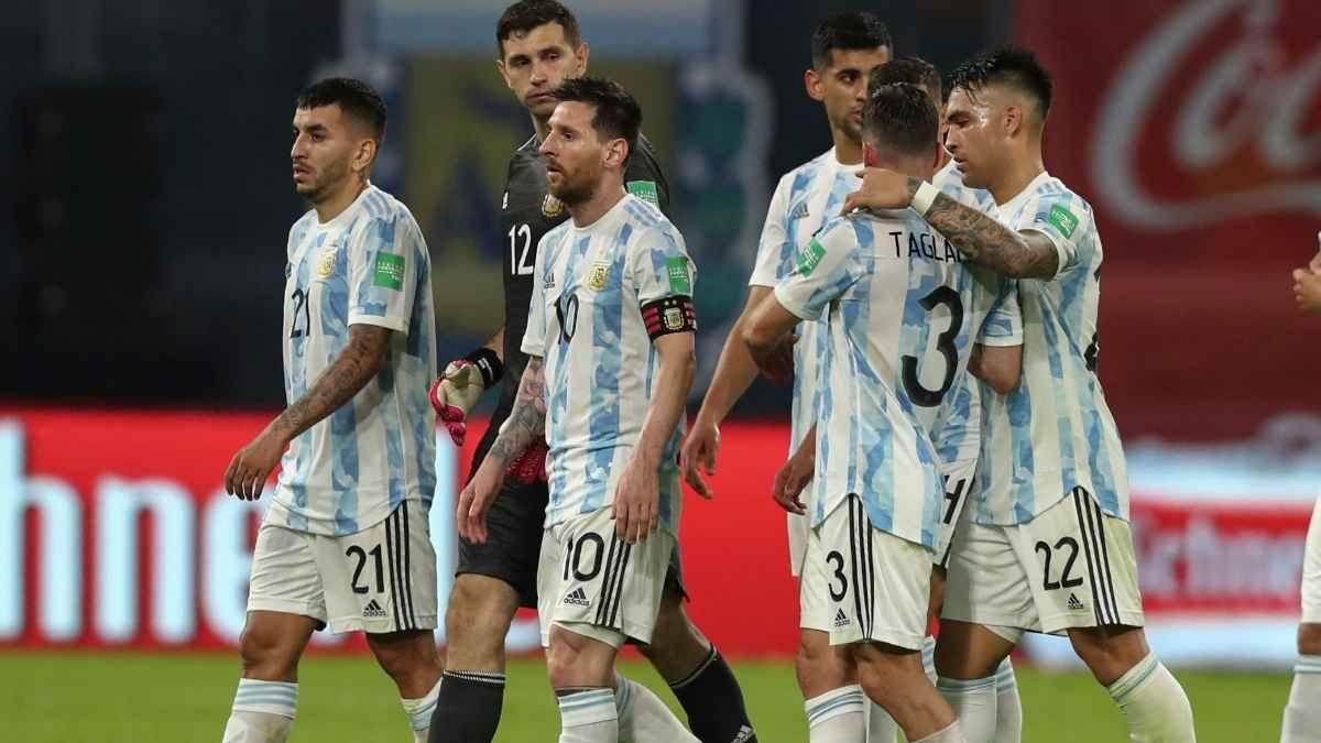 Argentina visita a Colombia.