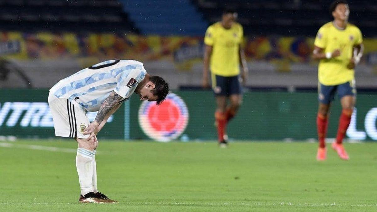 Colombia le quitó dos puntos a Argentina.