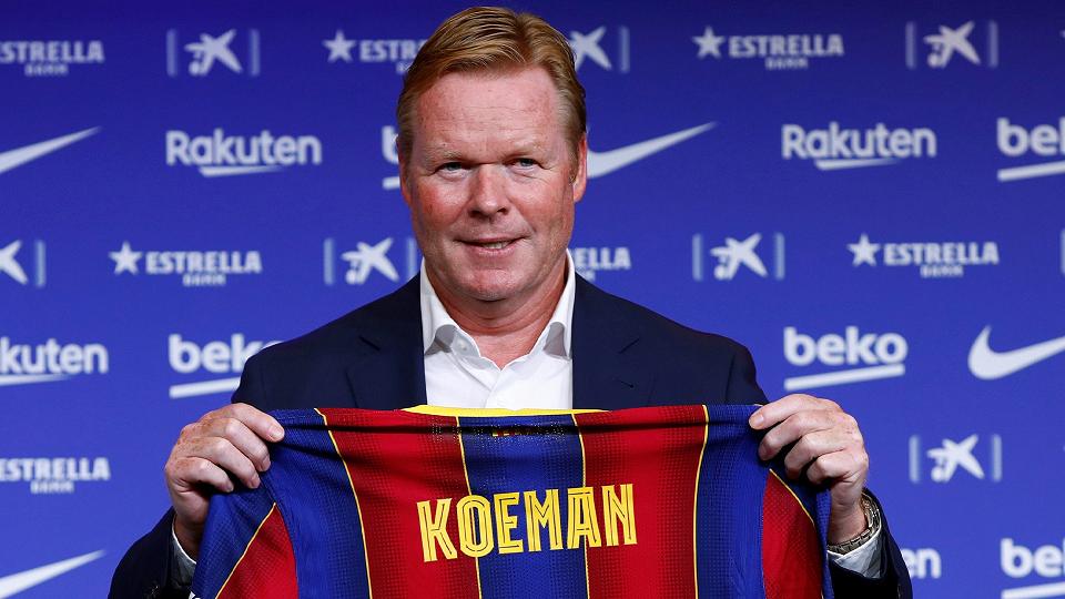 Barcelona: Ronald Koeman sorprendió a todos en conferencia