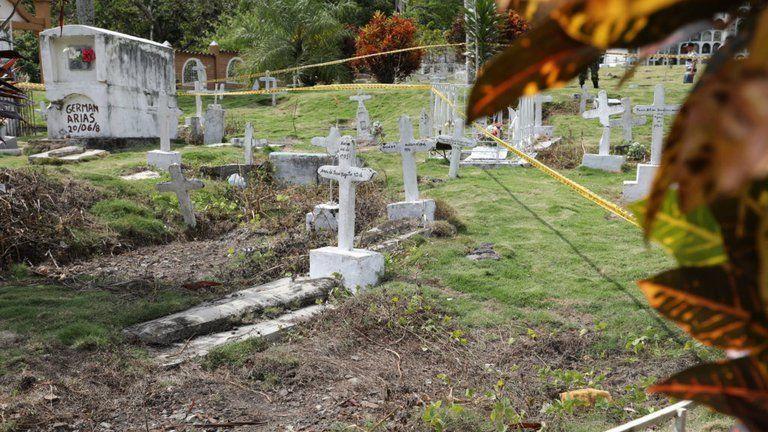 Identificaron cuatro cuerpos como víctimas de falsos positivos un cementerio