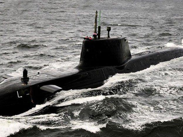 Un submarino británico, otro estadounidense llegaron a Siria