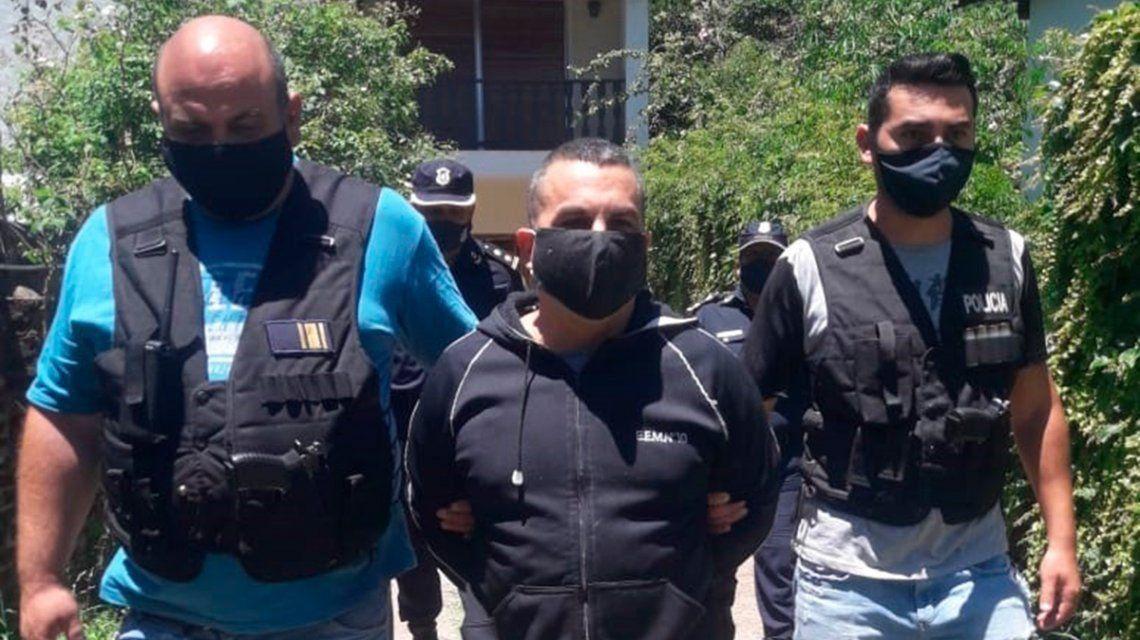 Fabián Tablado detenido.