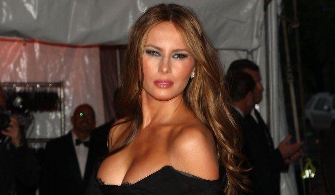 Ella es Melania Trump, la sensual y bella primera dama de los EEUU