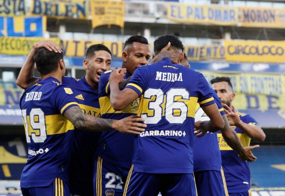 Boca venció a Atlético Tucumán y se mete en zona de clasificación