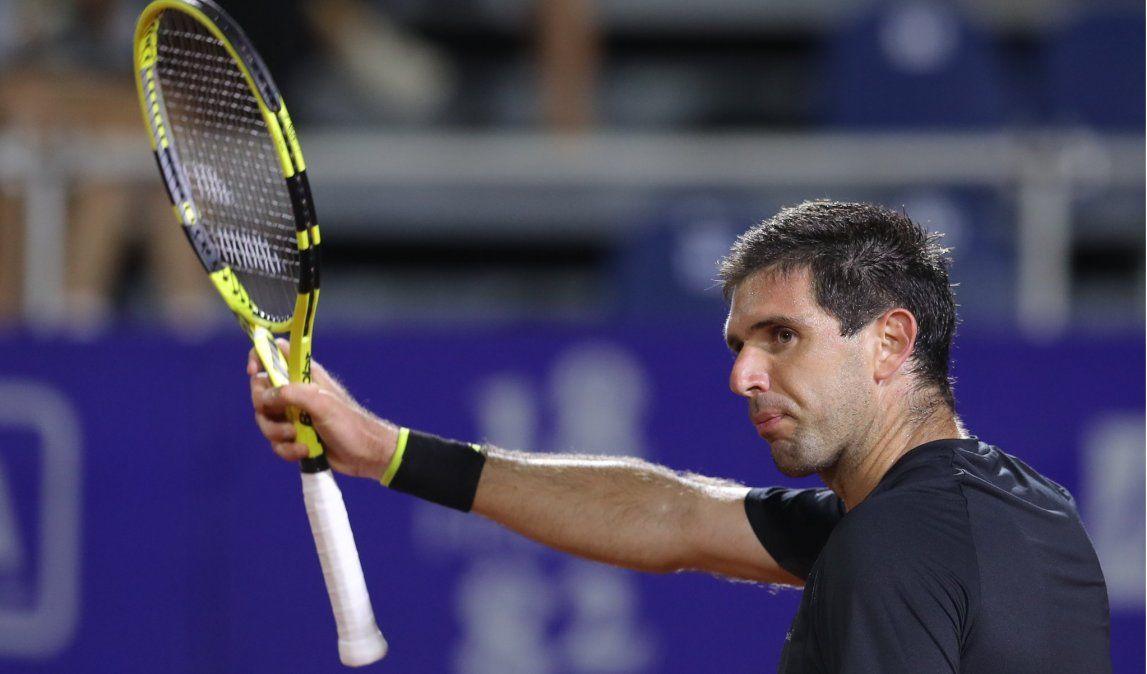 Federico Delbonis busca meterse en los cuartos de final del Córdoba Open.