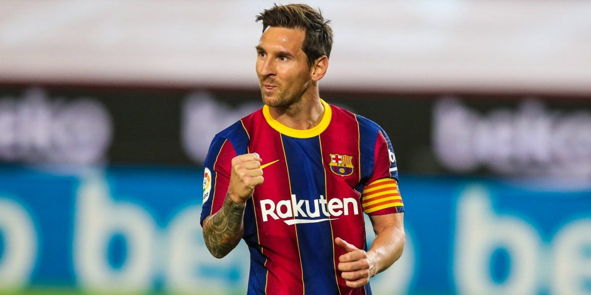 Lionel Messi alcanzó los 643 goles con la camiseta de Barcelona.