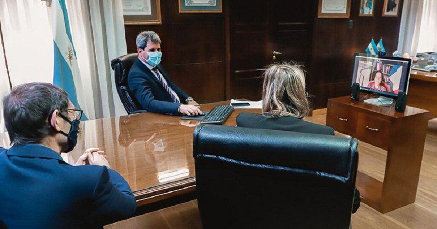 La embajadora de Francia se mostró interesada en el Acuerdo San Juan