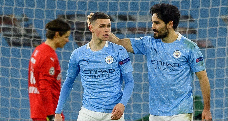 El City respiró sobre la hora con un gol clave para ganar en la ida.